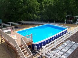 above ground pool deck kits team galatea homes best above