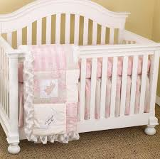 White Nursery Bedding Sets Heaven Sent 3pc Crib Bedding Set 396218741