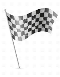 Checkered Racing Flags Finish Checkered Flag For Car Racing Royalty Free Vector Clip Art