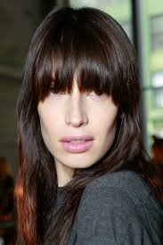 blunt fringe hairstyles how to maintain your new blunt bangs