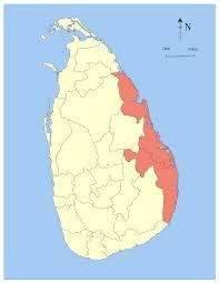 Sri Lanka On World Map by Eastern Province Sri Lanka Simple English Wikipedia The Free