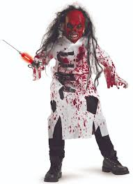 Zombie Boy Halloween Costume Demented Doctor Scary Kids Costume Scary Halloween Ideas