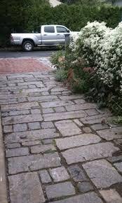Granite Patio Stones Reclaimed Granite Curbstone Driveway Apron Landscape Stone
