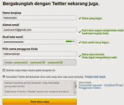 cara membuat twitter terbaru 2014 cara membuat twitter cara daftar twitter terbaru contoh cara