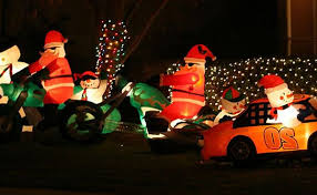 Unique Animated Christmas Decorations by Inflatable Christmas Decorations
