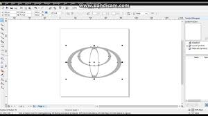 logo toyota vector how to make logos toyota with corel draw x4 youtube
