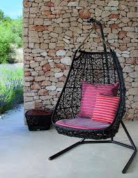 Swing Chairs For Patio Hanging Swing Chair Patio Rattan Swing Chair By Urquiola