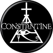 constantine eye of horus button horror business