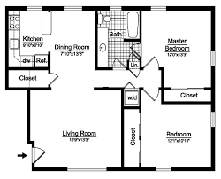 2 bedroom condo floor plan home intercine