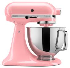 light pink kitchenaid stand mixer press room get the scoop and dish it out