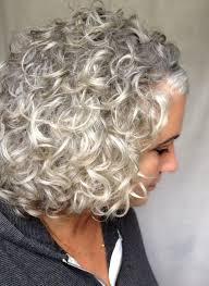 silver gray curls u2026 crazy curls pinterest gray gray hair