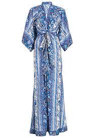 kimona dress tularosa rosella kimona maxi dress in blue dailylook