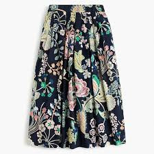 cotton skirts women s cotton skirt in liberty floral symphony women s skirts