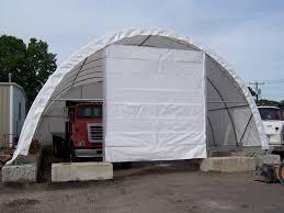 Round Garage Plans Round Style Portable Garages Quickgarage Com
