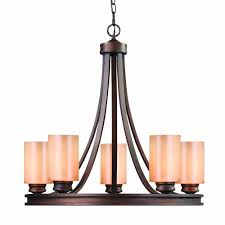 Shop Allen Roth Specialty Bronze by Allen Roth 4 Light Chandelier Best Illuminated Style Images On
