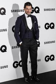 what to wear on thanksgiving day david gandy looks very handsome at the 2014 gq men of the year