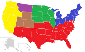 Blank Usa States Map by A Divided Continent Alternative History Fandom Powered By Wikia