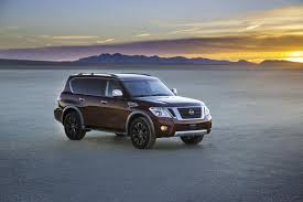 nissan armada on 26 inch rims 2017 nissan armada subjected to serious off road test autoevolution