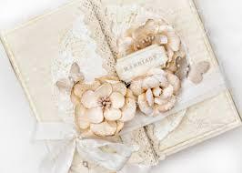 shabby chic vintage wedding mini album tutorial youtube