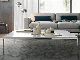 Living Room Ideas Beige Sofa Furniture White Marble Coffee Table With Candle And Pattern Rug