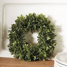 artificial boxwood wreath faux boxwood mini wreaths set of 4 ballard designs
