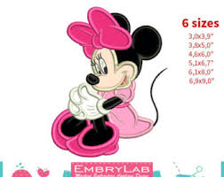 pink minnie mouse etsy