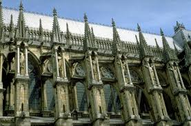 art images for college teaching reims cathedral exterior detail