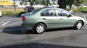 2004 honda civic green stock 731066 youtube