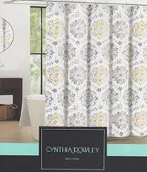 Shower Curtain Amazon Amazon Com Interdesign Moxi Fabric Shower Curtain Yellow And
