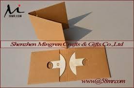 Origami Cd Cover - kraft paper cd dvd cover folio sleeve buy kraft dvd cover kraft