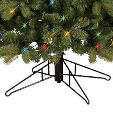 general electric 7 5 pre lit just cut colorado spruce tree with
