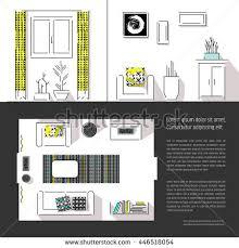 design magazine site interior design magazine page layout web stock vector 446518054