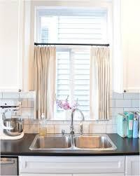 Kitchen Window Curtains Attractive Best 25 Kitchen Window Curtains Ideas On Pinterest At