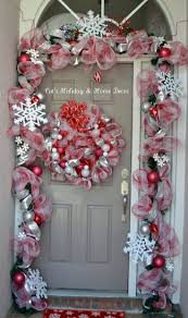 trim a home outdoor christmas decorations 155 best door decoration images on pinterest diy architecture