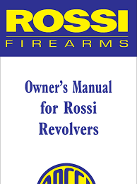 rossi manual revolvers cartridge firearms revolver