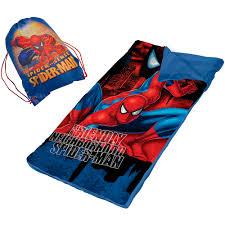 spider man slumber nap mat with bonus sling bag walmart com