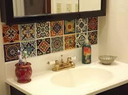 Mexican Bathroom Ideas Alluring Mexican Bathroom For Storage Modern Gx3qv9b3 Decor A