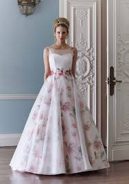 coloured wedding dresses uk 17 fabulously floral wedding dresses hitched co uk