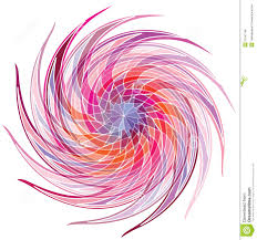 Pink Color Wheel by Color Wheel Background Vector Illustration Royalty Free Stock