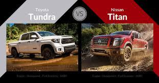 nissan tundra 2017 toyota tundra vs nissan titan carsforsale com blog