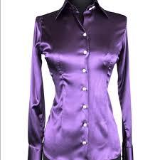 purple silk blouse 33 domenico vacca tops domenico vacca silk blouse with