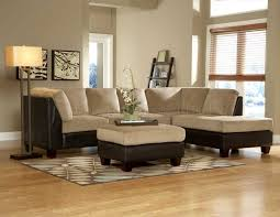 tan and gray living room grey wall color beige fabric simple