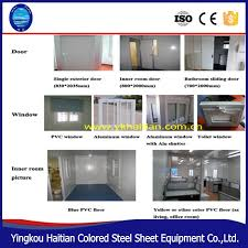 low cost cheap prefab steel structure glass luxury 20ft shipping