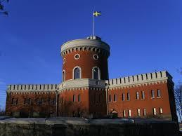 Sweedish Flag Other Kastellholmen Swedish Flag Stockholm Blue Sky 1080p