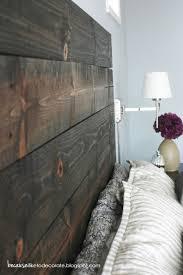 Wood King Headboard Accessories Modern Bedroom With Dark Cherry Wood Headboard With