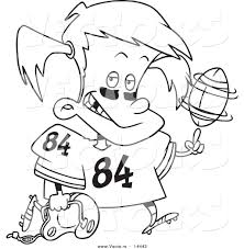 football field coloring page sports coloring page with a