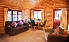bamburgh lodge two bed luxury log cabin with tub