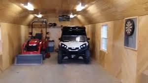 14 x 40 portable garage man cave remodel ottawa sheds youtube