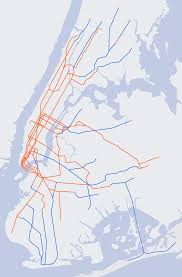 New York Submay Map by File Nyc Subway Underground Or Overground Track Position Svg