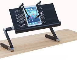 Laptop Stand Desk Ergoneer Height Adjustable Laptop Stand With Notebook Cls